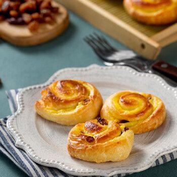 焙睿法式葡萄干起酥 28g*6个/包  烘焙半成品 面包胚