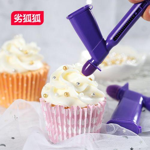 劣狐狐蛋糕装饰糖珠定位器固定金珠银珠钢珠糖豆镶珠翻糖蛋糕工具