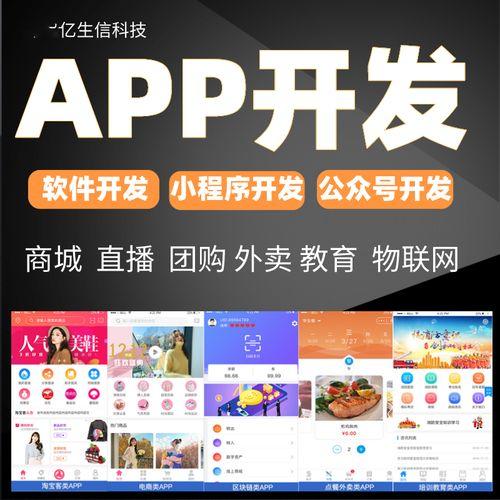 河池小程序开发公众号定制作app开发商城社区拼团购外卖点餐教育