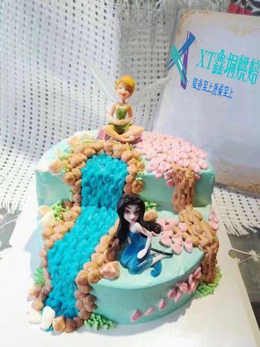 蛋糕装饰摆件精灵公主花仙子小仙女奶油翻糖6款礼品摆件 烘焙工具