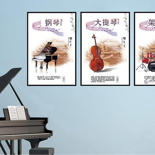 音乐教室机构舞蹈艺术学校培训室装饰墙贴玻璃门贴纸