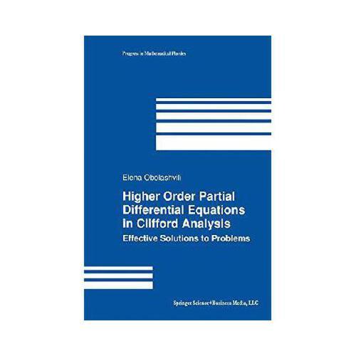 【预订】higher order partial differential equations in clifford