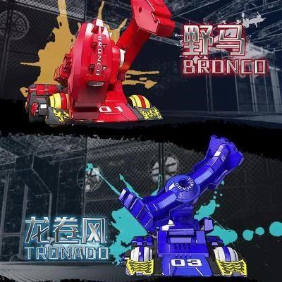对战机器人铁甲铁甲雄心男孩双人格斗战斗遥控