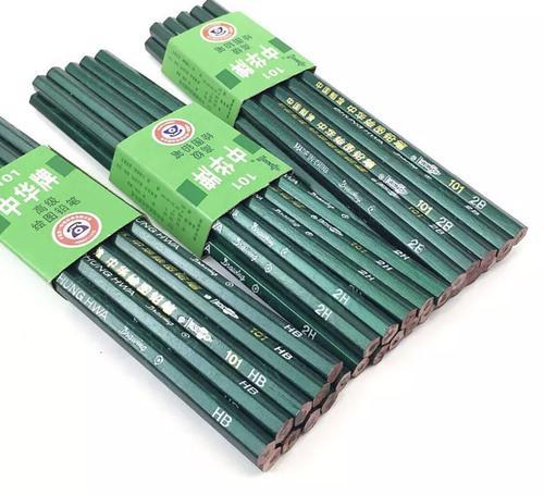 中华铅笔101-b hb 2b 3b 4b 5b 6b 2h 3h 4h 5h 6h