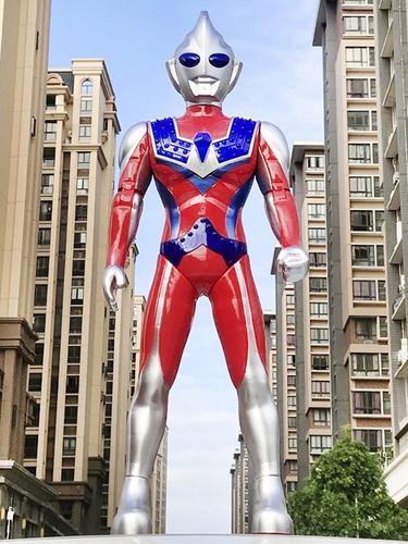 新超大号大型男童发光奥特曼大号玩具一米宇宙超人