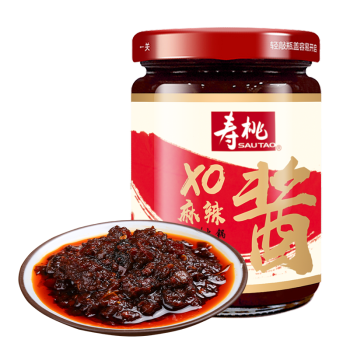 寿桃xo麻辣酱200g 拌面酱 烧烤麻辣烫火锅蘸料 炒菜滋味酱 xo麻辣酱