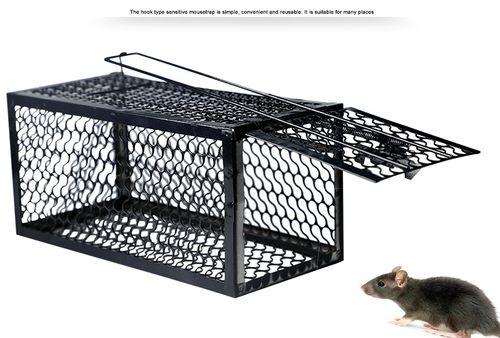 老鼠笼子捕鼠器老鼠夹家用捕鼠笼灭鼠器连续捕老鼠抓