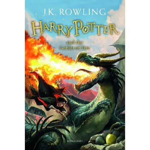 哈利波特与火焰杯 英文原版 4 harry potter and the