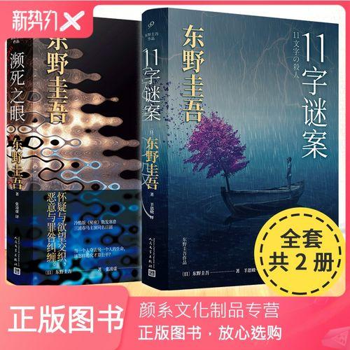 【颜系图书】正版 东野圭吾书籍共2册 11字谜案+ 濒之眼 日本文学