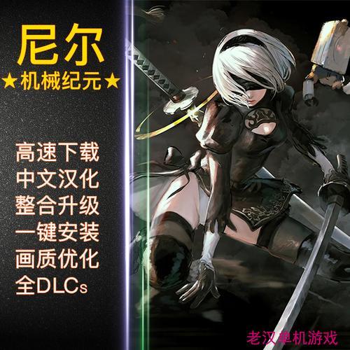 尼尔机械纪元中文完整版 pc电脑单机游戏 稳定全dlc