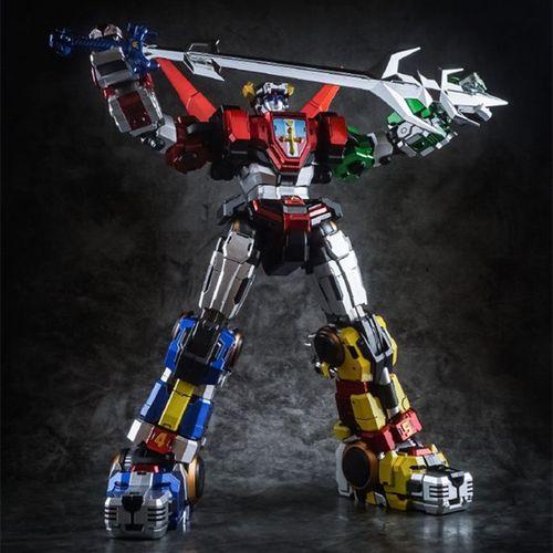 泰坦模型 金属色涂装 红狮子黑蓝绿tp01百兽之王金刚战神五狮合体
