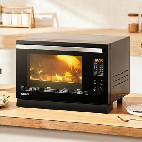 galanz/格兰仕 26l家用蒸烤箱 台式多功能蒸烤一体机蒸箱 黑色26l