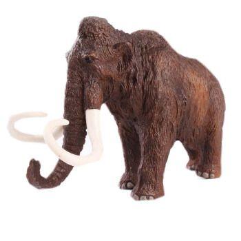 男孩礼物儿童仿真动物玩具模型 史前生物 猛犸象 长毛