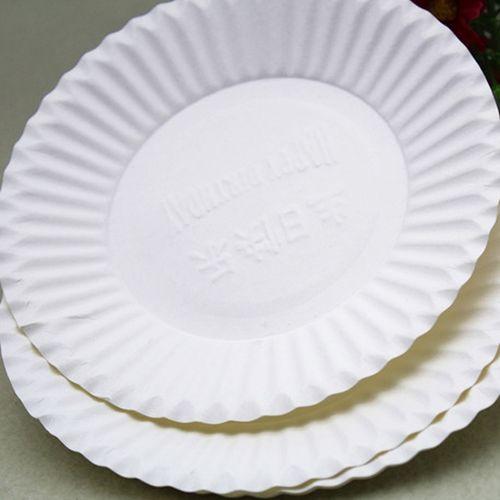 一次性薄盘生日餐盘蛋糕盘子小纸碟餐具碟子圆盘散装