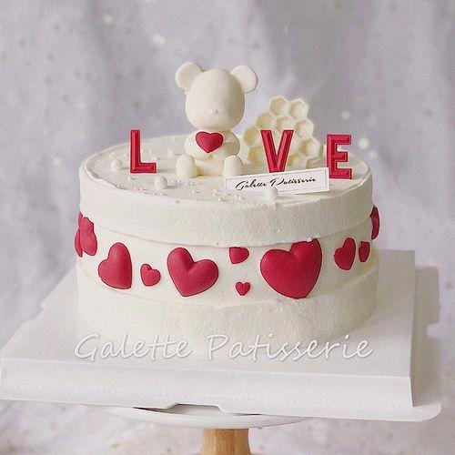 小熊硅胶模具 立冰慕斯翻糖巧克力模 生日节蛋糕烘焙装饰
