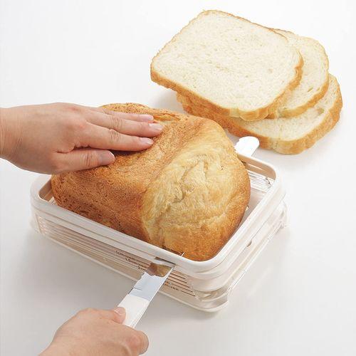 日本进口面包切片器吐司带刀切割辅助工具厨房烘焙
