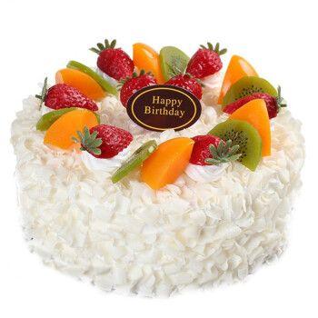 芙瑞多 8寸巧克力水果生日蛋糕预定当日送到新鲜制作