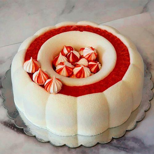新款花形慕斯蛋糕模 diy烘焙模硅胶翻糖模具戚风蛋糕