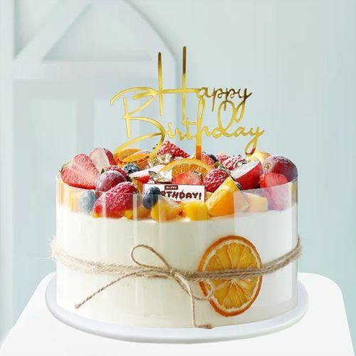 水果蛋糕模型仿真2020新款欧式简约流行定制假橱窗