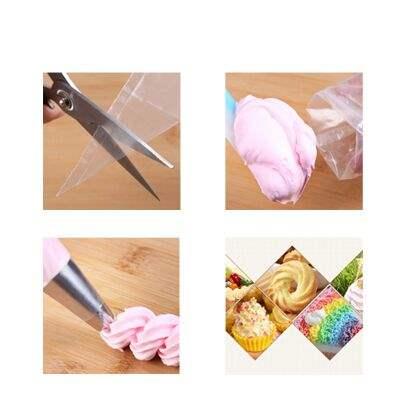 裱花袋奶油裱花袋大号中号小号裱花袋加厚裱袋约100个