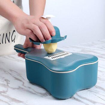 极度空间 切菜器多功能切菜神器土豆丝刨丝器切丝器切片器手动擦丝器