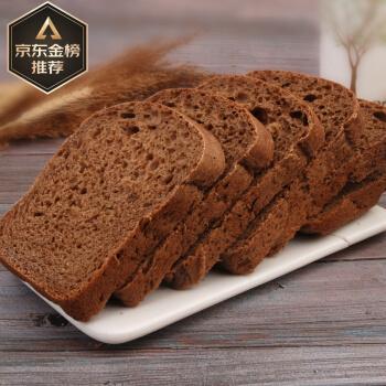 「精选」俄罗斯风味燕麦麸大列巴面包黑全麦粗杂粮饱腹感代餐健身食品