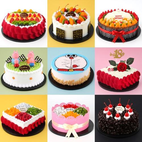 奶油生日蛋糕模型家用巧克力蛋糕礼品卡通蛋糕商用