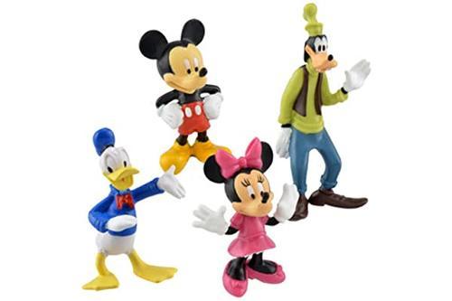迪士尼米奇和朋友们蛋糕装饰/小雕像 ~ 米奇,米妮,唐老 & goofy