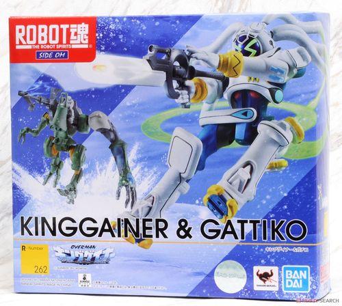 现货 万代 robot魂 帝皇战纪 返乡战士 king gainer