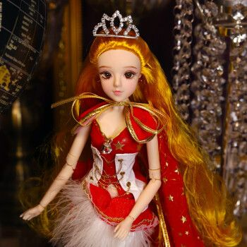 德必胜芭比娃娃套装大礼盒十二星座娃娃儿童玩具女孩巴比公主洋娃娃