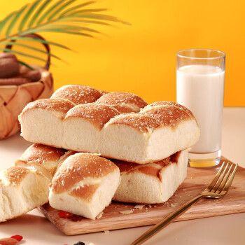 椰蓉奶酪面包早餐手撕蛋糕点营养零食品整箱批发代餐