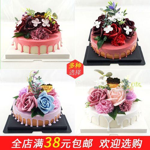 仿真蛋糕模型 2019年新款欧式假蛋糕水果生日蛋糕店