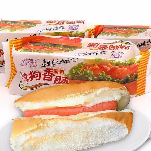 促销不意包退热狗香肠面包1800g整箱早餐营养香肠奶酪