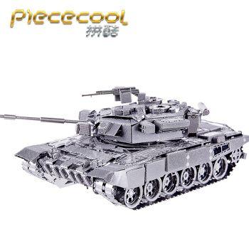 拼酷3d立体金属拼装拼图军事战车坦克模型diy成人手工创意百夫长坦克