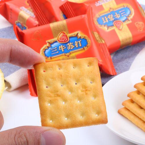 上海椒盐苏打饼干咸味梳打饼干万年青鲜葱酥零食散装