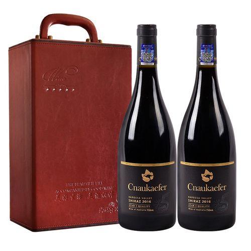 中澳凯富系列干红葡萄酒 澳大利亚红五星酒庄原瓶进口红酒 黑牌西拉