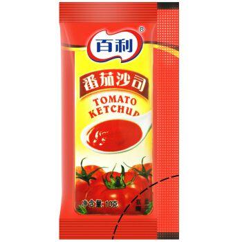 百利 番茄酱 番茄沙司 薯条酱包 意面酱 小孩开胃 10g