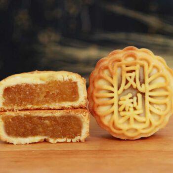 水果月饼凤梨多口味小月饼广式五仁豆沙小零食迷你小月饼糕点礼盒