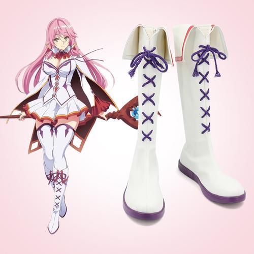 回复术士的重启人生 芙蕾雅cos演出鞋 游戏动漫cosplay靴子定制