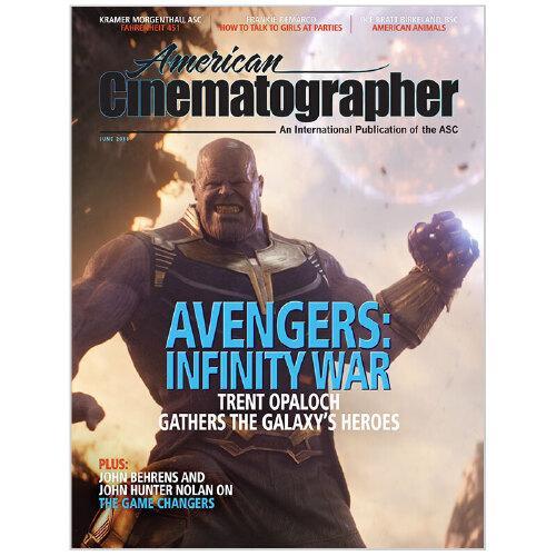 进口原版年刊订阅 american cinematographer 电影拍摄杂志 美国英文