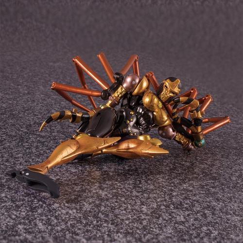 变形玩具金刚恐龙勇士猛兽侠mp46黑寡妇mp-46蜘蛛模型