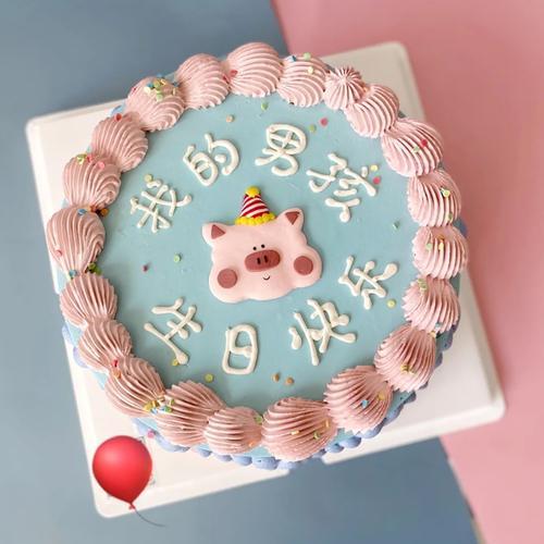 烘焙蛋糕装饰 可爱公仔 幸运宝宝蛋糕装饰摆件礼物玩偶