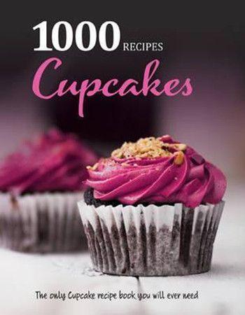 1000种菜系列 纸杯蛋糕 英文原版 cupcakes 烘焙与