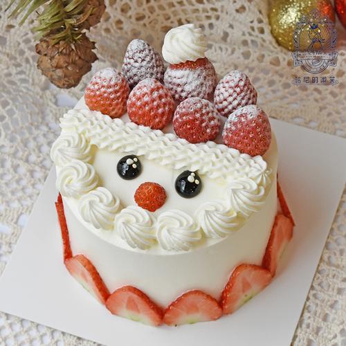 小雪人蛋糕-4寸