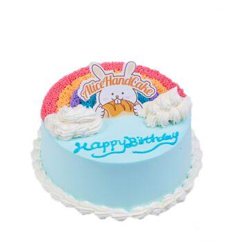 定制当日送达儿童生日蛋糕冰雪奇缘公主女孩男孩宝宝.