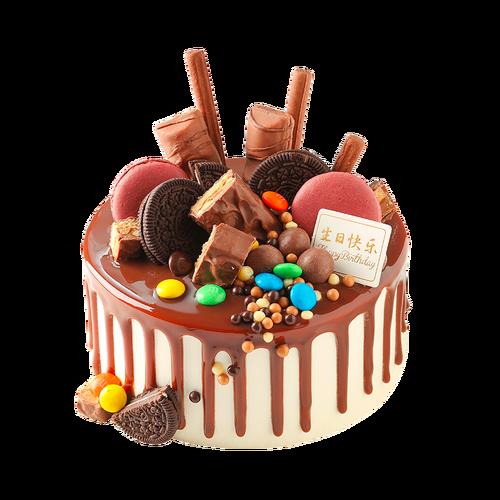 味多美 巧克力蛋糕   生日蛋糕 生日宴会 同城配送    巧克力盛宴