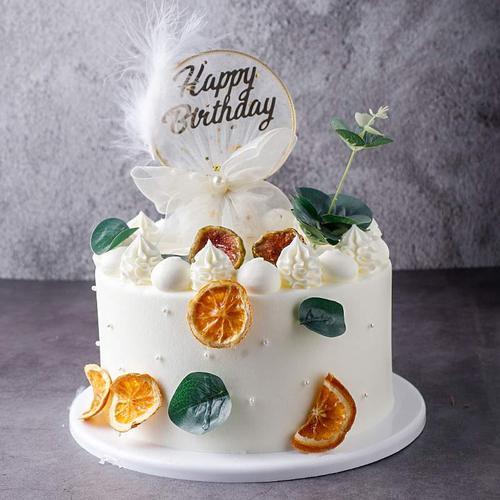小清新森系水果蛋糕模型仿真2020新款网红假蛋糕生日