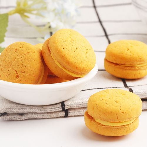 5折 马卡龙饼干72g*3袋小孩儿童宝宝零食2 3岁小吃休闲食品健康营养