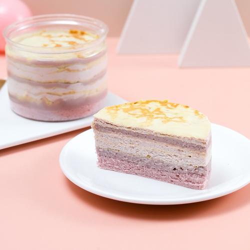 代糖芋泥盒子蛋糕系列网红慕斯甜品罐子肉松麻薯奶茶