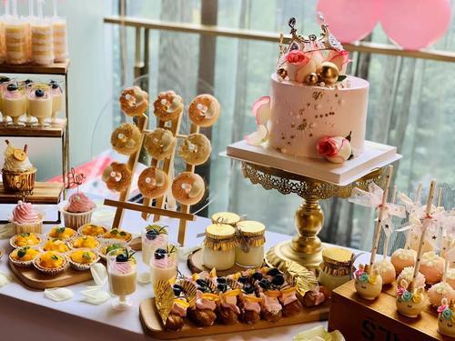 成都同城配送生日宴会周岁公司庆典聚餐party下午茶甜品台蛋糕